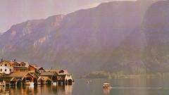Halstatt - Austria (Michael McMillen) Tags: halstatt austria boat house boathouse sunrise morning summer lake roadtrip europe germany alps alpine hike hiking 35mm photography film landscape phtography grain