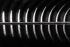 Mauerwerksbogen | Berlin, Germany 2016 (philippdase) Tags: berlin mauerwerksbogen bodemuseum bnw blackandwhite nikond7100 nikon sigma1835mm18 sigma reflection water philippdase