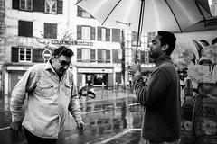 Mocking attitude. (Txipi Art'z) Tags: human instant black bw white candid city monochrom streetphotography streetphoto street shoot social fuji xsries x100t