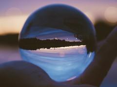 Upside down (janniek_r) Tags: water landscape preset vscocam cam vsco photographer teenage canon sunset ball glass down upside