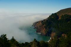 Marin Headlands Fog (janice.sullivan12) Tags: marinheadlands fog sanfrancisco water view beautiful