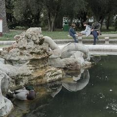 Duck I fell asleep! (marcovultaggio) Tags: sleep people street ortobotanico rome streetphotography rx100 sony 1inchsensor duck italy