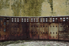 You can't control the past (Kriegaffe 9) Tags: rust decay metal control cracked industrial