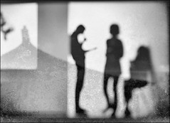 F_DSC0377-DSC7795-1-BW-1-Nikon D800E-Nikkor 24-70mm-May Lee  (May-margy) Tags: maymargy bw         streetviewphotographytaiwan  linesformandlightandshadows  mylensandmyimagination  naturalcoincidencethrumylens      fdsc0377dsc77951bw1 portrait silhouette fujianstylehome multiexposure humaningeometry blur bokeh taipeicity nikond800e nikkor2470mm maylee