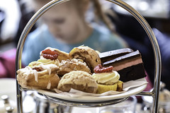 Afternoon tea with a princess (soilethecurious) Tags: afternoon tea stockholm cake dessert wienercafeet