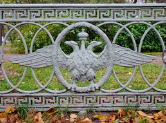 Symbol of Russia, two headed eagles (phuong.sg@gmail.com) Tags: architecture arms art bird coat crown culture decoration detail double doubleheaded eagle emblem empire gate gold head heraldic history imperial insignia landmark metal monarchy national palace petersburg power royal russia russian saint scepter sculpture sign st state symbol two twoheaded