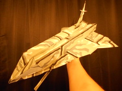 Dreadnaught Battlecruiser (mjayson@bellsouth.net) Tags: origami space scifi spaceship battleship star wars