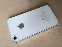 许久未用的iPhone 4S 背面(Model A1387) (zikay's photography from bizinsz.net) Tags: iphone apple 苹果 mobilephone 手机 cameraphone