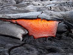 Pahoehoe lava flow (rufiyaa) Tags: nature volcano lava magma geology hawaii kilauea pahoehoe science earth