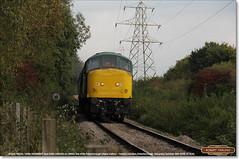 45041 'ROYAL TANK REGIMENT' and D182 Peterborough (NVR) on 2M50, October 15th 2016 a (Bristol RE) Tags: 45041 d53 53 46045 d182 182 peak peaks 45 46 2m50 peterborough nenevalleyrailway nvr class45 class46 royaltankregiment