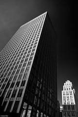 Buildings / Place d'Armes (Toine B.) Tags: montreal quebec canada sky d750 building architecture architectural city ville extrieur gratteciel btiment skyscraper monochrome noir et blanc noiretblanc blackandwhite
