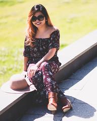 Tricia (Rein Domingo) Tags: petite natural light ambient outdoor nikon woman portrait tricia d810 asian 85mm