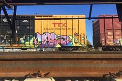Tre (Psychedelic Wardad) Tags: freight graffiti dethkult dklt nsf olboys treske tre
