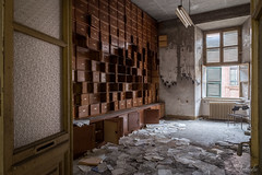 What's inside your closet? (nathalieverding) Tags: urbex abandoned lost ospedale manicomio closet decay