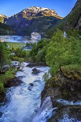 070349_CB_1064 (aud.watson) Tags: europe norway sunnmoreregion geirangerfjorden fjord waterfalls water mountains geiranger dawn cruiseship