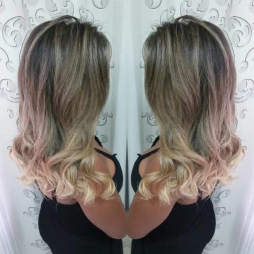Ombre Hair e reconstrução by @marcoslsoares  #felithi #cosmeticosprofissionais #blendplex #blonde #cabelosecia #revistacabelos #ecodermeprofessional #lighthair #hairstyle #hairbrasil #ecosmetics #eunoperfeitas #modaparameninas #lookperfeito #guerradasteso