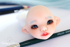 Face-up Happy -DoD Mel (Kiky) Tags: dustofdoll dod cute bjd faceup blue mel asiatique