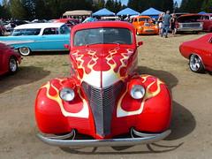 1939 Chevrolet (bballchico) Tags: 1939 chevrolet coupe flames arlingtoncarshow carshow 1930s 206 washingtonstate arlingtonwashington