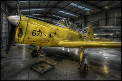 The Shuttleworth Collection 38 (Darwinsgift) Tags: shuttleworth collection old warden vintage aircraft museum chipmunk plane aviation nikkor 20mm f18 g nikon d810 hdr photomatix photoshop bedfordshire hdraward