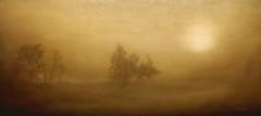 The morning fog (Aviones Plateados) Tags: canon eos550d t2i niebla boira mist montseny barcelona catalonia amarillo yellow groc backlight contraluz contrallum arbre arbol tree brouillard matin nebbia matutina sky skeletalmess lenabemannaj rebel textures kissx4 themorningfog katebush houndsoflove elbrull theninthwave