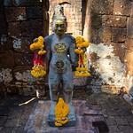 Radiating Boddhisatva Avalokitesavara at Monument No. 1 in Prasat Mueang Singh historical park in Kanchanaburi, Thailand thumbnail