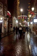 Pub Crawl (domit) Tags: amsterdam preview theoffice street rain night