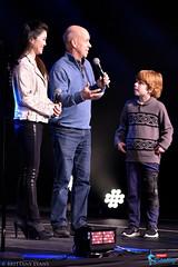 Kristi Yamaguchi, Scott Hamilton (and son Maxx)
