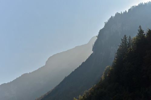 Aare valley seen from Reichenbach Falls