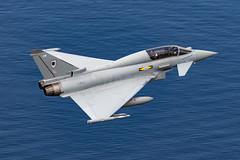 RAF Typhoon T.3 ZJ802 low level at Ullswater (NDSD) Tags: low level typhoon t3 eurofighter ullswater cumbria flying jet raf lake district