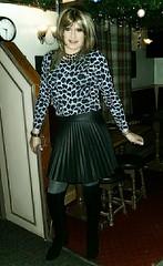 Mondays (Amber :-)) Tags: charcoal sunray mini skirtt tgirl transvestite crossdressing