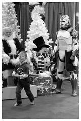 Calgary Expo Holiday Market - Santa's bounty hunter (Wanderfull1) Tags: calgaryexpo holidaymarket 2016 boy santa bountyhunter xmas