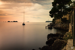 oh mon bateau oh oh oh (flo73400) Tags: paysage mer bateau coucherdesoleil poselongue le longexposure landscape sunset boat sea dubrovnik croatie