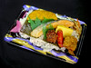 Bento (DigiPub) Tags: bento sausage meatball chicken fish rice box pickle daikon radish japan kakiage vegetable seavegetable korokke