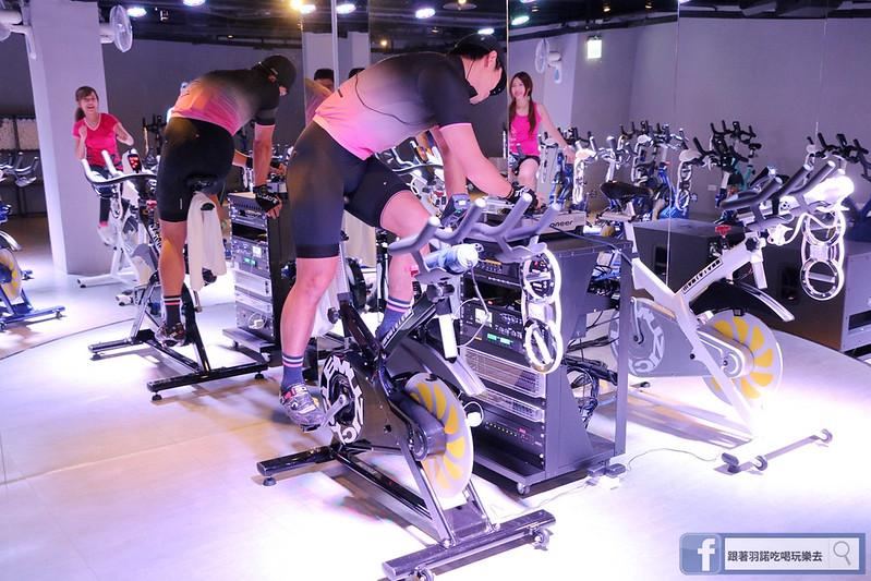台北松山南京復興站健身房  MUZICYCLE 飛輪拳擊課程109