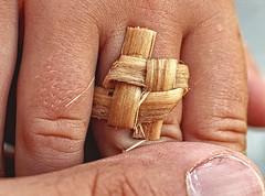 brown girl in the ring (stempel*) Tags: pentax poland polen polonia 50mm k30 gambezia ring kluki folklor folk girl hand finger macro makro