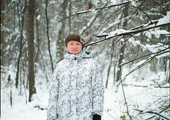 Ma (Maksims eldajevs) Tags: mamiya645 120 mediumformat film riga latvia winter family mother