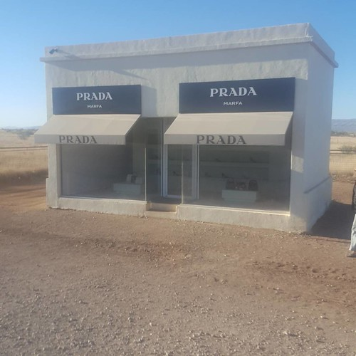 We Found The Prada Outlet In Marfa!