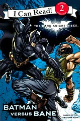 Batman vs Bane (Vernon Barford School Library) Tags: 9780062132246 jodyhuelin jody huelin andietong andie tong icanread level2 darkknightrises batman bane superheroes villains supervillains gothamcity goodandevil movienovels action vernon barford library libraries new recent book books read reading reads junior high middle vernonbarford fiction fictional novel novels paperback paperbacks softcover softcovers covers cover bookcover bookcovers readinglevel grade2 rl2 reader readers readingmaterials readingmaterial evil