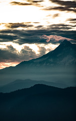 Morning Serpant (FujiChallenger) Tags: 200mm oregon mthood dragon sunrise telephoto canon canon6d clouds cold