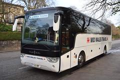 YJ13GWP  Mid Wales Travel, Aberystwyth (highlandreiver) Tags: edinburgh yj13gwp yj13 gwp mid wales travel aberystwyth van hool tx bus coach coaches