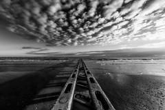 One way out (Stephen Hunt61) Tags: seascape water sea clouds sand beach sky landscape reflections waves winter paesaggio spiaggia nuvole mae caorle outdoor stefanocaccia