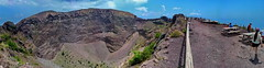 Picnic at Vesuvio Top and Crater View (gerard eder) Tags: landscape landschaft paisajes world travel reise viajes italy italien italia campania naples napoli neapel vesuvio volcano vulkan volcn