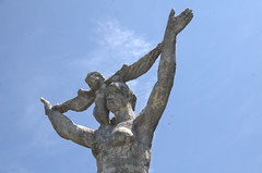 Statue Ohori Park Fukuoka