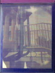 8 X 10 ADDITIVE COLOR PHASE 1 …. COLOR PLAY AT THE PLAYGROUND (John R.Gibbons) Tags: color screen handcrafted additive instantfilm 8x10camera bwmaterials