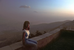 """You'll never get a photo in this light"" (jonathan charles photo) Tags: portrait art photo topf50 dusk jonathan charles athens 1981 lycabettus"