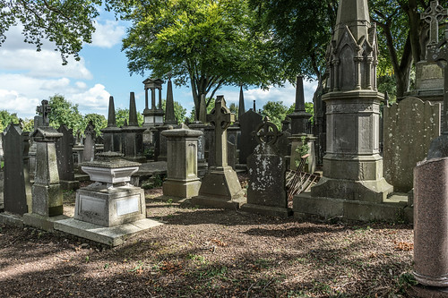 GLASNEVIN CEMETERY [MY FIRST DAY USING THE NEW SONY A7RMkII] REF-107407