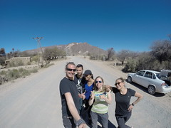 Photo de 14h - Avec Mathilde, Mickael et Shany sur la route pour Cafayate (Argentine) - 21.08.2014