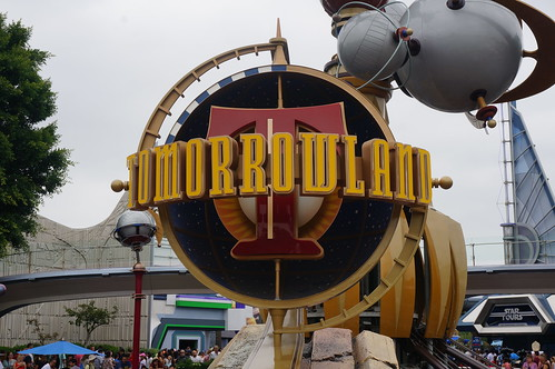 "Tomorrowland Sign • <a style=""font-size:0.8em;"" href=""http://www.flickr.com/photos/28558260@N04/20689771665/"" target=""_blank"">View on Flickr</a>"