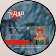 Toyah - All In A Rage (Leo Reynolds) Tags: xleol30x squaredcircle picturedisc picture disc 45rpm record single vinyl platter 7inch sqset121 canon eos 40d xx2015xx sqset