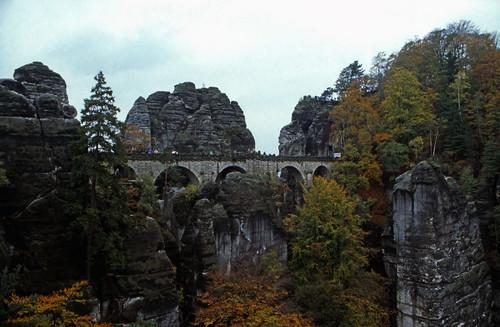"""Elbsandsteingebirge (051) Basteibrücke • <a style=""""font-size:0.8em;"""" href=""""http://www.flickr.com/photos/69570948@N04/21272351123/"""" target=""""_blank"""">View on Flickr</a>"""